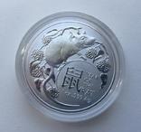 1-я в серии Год Крысы Лунар 2020 от Royal Australian Mint, фото №5