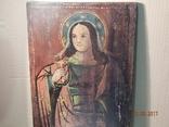 Икона Святой великомученицы Варвары (XIX) век, фото №3