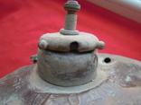 Низ большой лампы Вильна Теодоръ Крейнгель (на реставрацию), фото №11