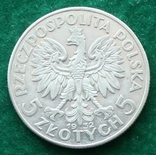 Польша 5 злотых 1932 г., фото №3