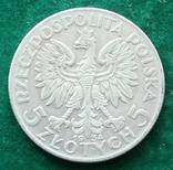 Польша 5 злотых 1934 г., фото №3