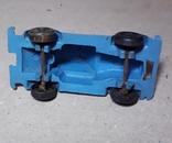 Миниатюрная машинка с ПВХ из СССР 60-70-е годы,длина 7,5см., фото №5