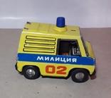 Машинка МИЛИЦИЯ 02 из СССР металл, фото №3