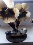 Цветы из кости сувенир, фото №3
