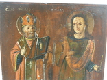 Икона св.микола и св.варвара 360мм Х 290мм, фото №3