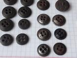 Пуговицы к амуниции разных периодов, звёздочки, более 40 шт, фото №10