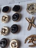 Пуговицы к амуниции разных периодов, звёздочки, более 40 шт, фото №11
