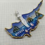 Магнит. Кипр. 125х60мм, фото №3