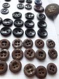 Пуговицы для амуниции разных периодов, 80 шт, фото №8