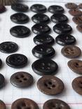 Пуговицы для амуниции разных периодов, 80 шт, фото №13