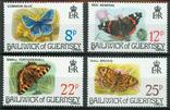 Гернси 1981 бабочки, фото №2