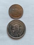 Монеты Исландии 2 штуки, фото №3