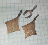Три серебряных кулона ( 2шт. СССР , 1 шт. Украина ), фото №4