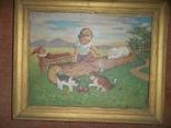 Мальчик играет с котятами., фото №2