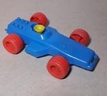 Машина гонка пластмасса СССР Клеймо,длина 15 см., фото №5