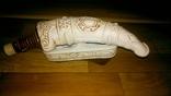 Рог керамический, с подставкой., фото №2