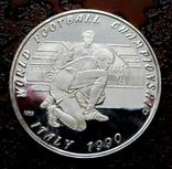 50 кип Лаос 1990 состояние Proof серебро, фото №4