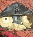 Шлем летчика ВВС СССР кожа, фото №3