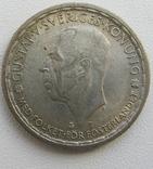 2 кроны 1946 г. Швеция серебро, фото №2