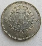 2 кроны 1946 г. Швеция серебро, фото №5