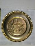 Настенная тарелка, Богдан Хмельницкий, памятник, Киев СССР №1, фото №3