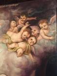 Икона Благовещение Пресвятой Богородицы Академическая живопись, фото №4