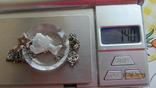 Кулон. Камея. Серебро, хрусталь., фото №10
