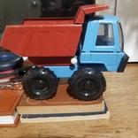 Грузовик трактор и паровоз, фото №2