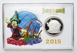 Монета подарочная Дисней Walt Disney Epcot Flower Festival Микки Маус лимит 2015, фото №2