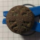 Пуговка с изображением орла Позолота, фото №2