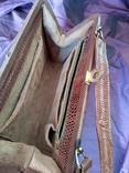 Сумочка клатч из варана, 40-50-е, фото №9