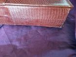 Сумочка клатч из варана, 40-50-е, фото №10