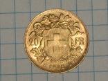 20 франков 1935 год. Швейцария, фото №2