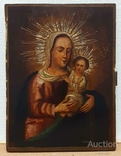 """Икона """"Богородица Толгская"""", рубеж 18 - 19веков, фото №2"""