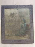 Благовещение Пр.Богородицы. 31х26,5см, фото №4