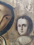 Пр.Богородица. Большая икона с очень красивым ликом . 36х26,5, фото №6