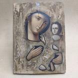 Пр.Богородица. Большая икона с очень красивым ликом . 36х26,5, фото №3