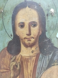 Господь Вседержитель. Икона. Живопись по левкасу. 30х22,5см., фото №4