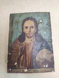 Господь Вседержитель. Икона. Живопись по левкасу. 30х22,5см., фото №10