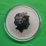 Тувалу 1 доллар Королевская удача Корабль Черная борода 2020 1 oz, фото №3