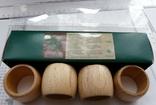 Набір кілець для серветок дерево Кольца для салфеток, фото №2