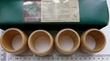 Набір кілець для серветок дерево Кольца для салфеток, фото №4