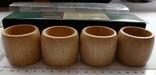 Набір кілець для серветок дерево Кольца для салфеток, фото №5