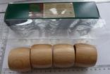 Набір кілець для серветок дерево Кольца для салфеток, фото №6