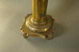 Керосиновая лампа свеча керосин или спиртовка высота 27 см, фото №4
