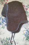 Шапка ушанка солдатская 58 р., фото №8
