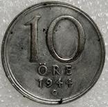 10 оре 1944 год Швеция, фото №2