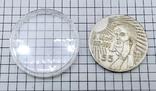 """Виктор Цой. Кино (1962 - 1990). Монета. Жетон. """"Если есть шаг - должен быть след"""", фото №5"""