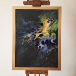 Картина/ живопис/ абстракція Fluid Art #3 acrylic, фото №2