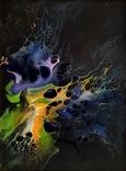 Картина/ живопис/ абстракція Fluid Art #3 acrylic, фото №5